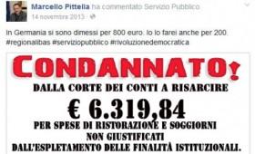 Pittella condannato